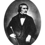 Photo of famous writer Nikolai Gogol