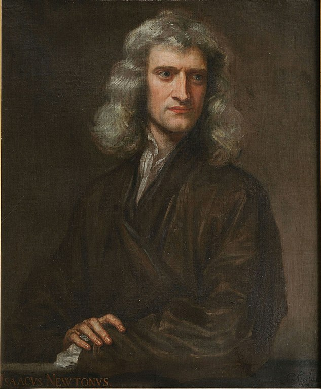 Portrait of Sir Isaac Newton - 1689